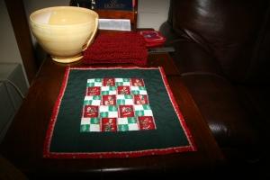 Mom's mini-quilt
