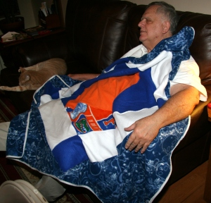 Gator Fleece Quilt