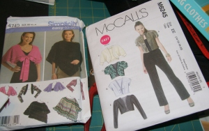 Simplicity Easy-to-sew and McCall's Easy