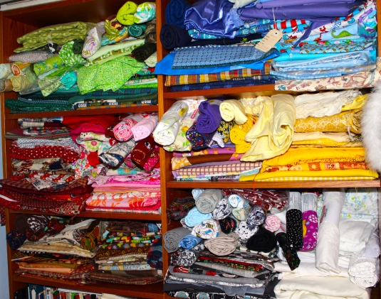 quilting fabric stash