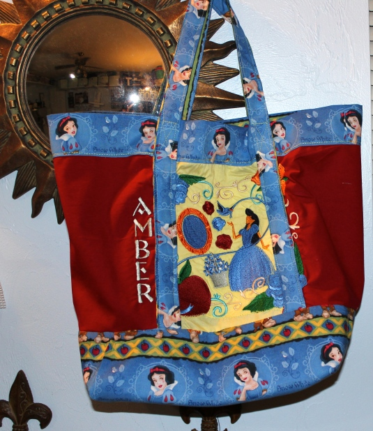 Snow White shopping bag
