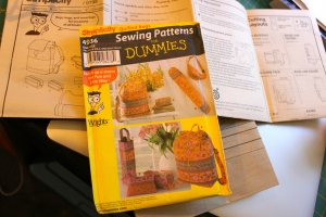 Sewing for Dummies yoga bag pattern