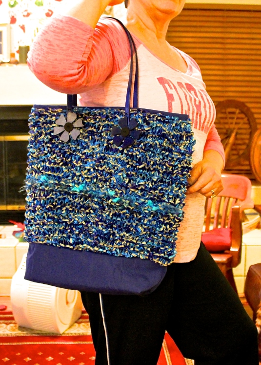 Sari-ribbon Tote bag