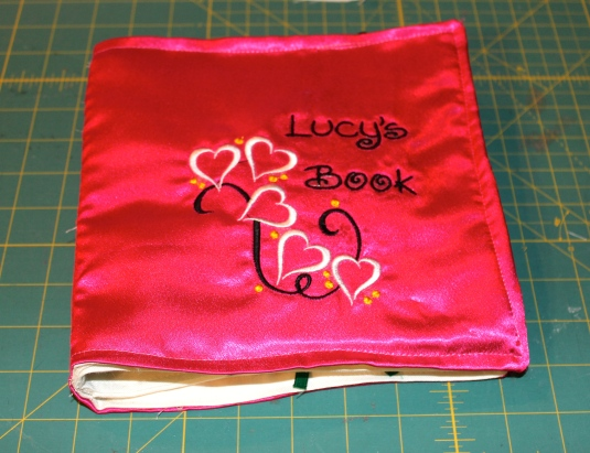 cloth book