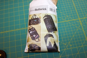 Butterick pattern for travel bags