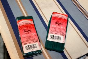 Wright's fleece binding