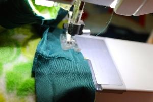 fleece binding