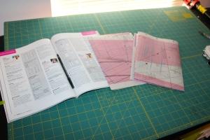 Burdastyle magazine pattern inserts