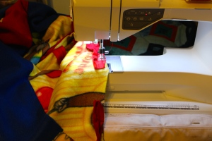 fleece binding