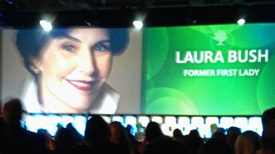 Laura Bush #rootstech
