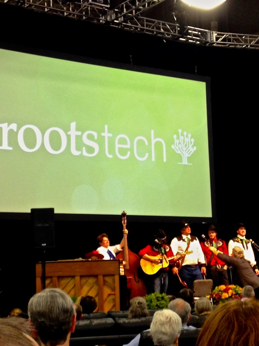 Peaches Bill Band at #rootstech